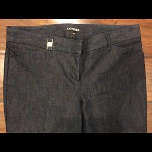 Express Editor Pants size 6 Regular dark jeans
